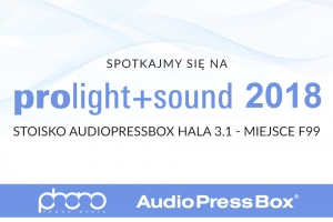 AudioPressBox na Prolight + Sound 2018