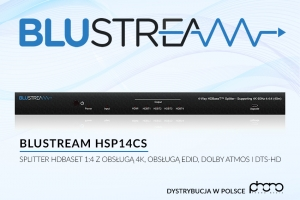 Splitter HDBaseT Blustream HSP14CS